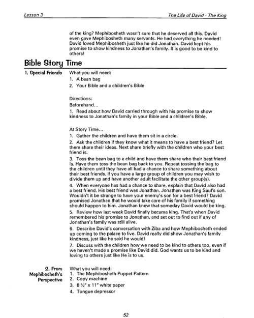 the life of david bible